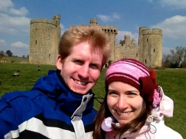 Bodiam Castle - Easter 2013