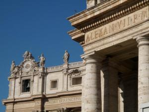 St. Peter's Square - Detail