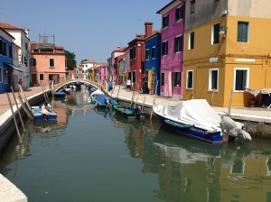 Canal of Burano - From Piazza Baldassarre Galuppi