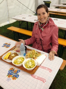 Tray of Gastronomic Awesomeness! - Festa di Fimon 2014