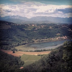 Lago di Fimon from Above