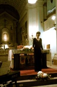 Alicia at Madonna di Campagna