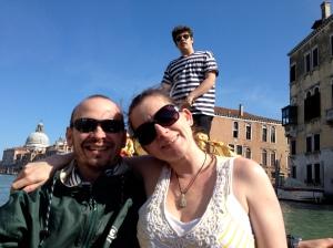 Naomi and Craig on Gondola