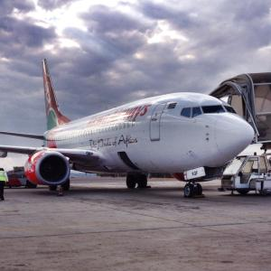 Keny Airways - The Pride of Africa