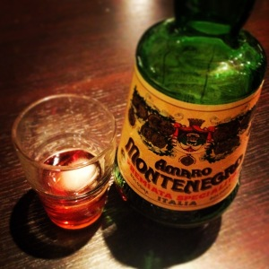 sapore vero - true flavor - Amaro Montenegro