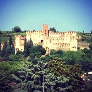 Soave Castle - a few miles down the road from Antica Corte