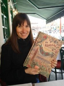 Alicia with Da Romano Menu