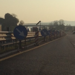 get over! on the autostrada