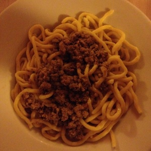 bigoli anatra (duck ragu) - probably the best of the best