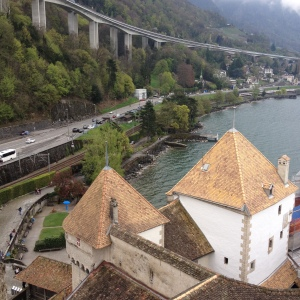 Old meets new at Château de Chillon