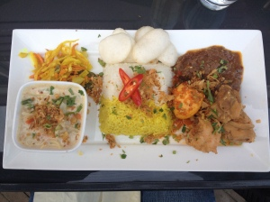 nasi rames - a little bit of everything good