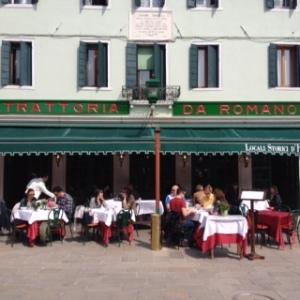 Outside of Da Romano