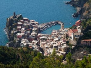 Vernazza from high above!