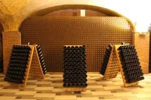 The wine cellar of Ca'Rugate