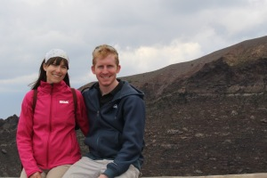 PashbyMaul Adventures from the top of Mount Vesuvius!
