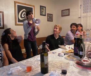Yes, I did make a speech for all of the Progetto Voce peeps in Italian!  Somehow, I held myself together without crying.