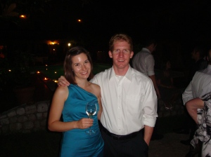 Here's the beginning of our story together: at Elena's wedding in 2011.