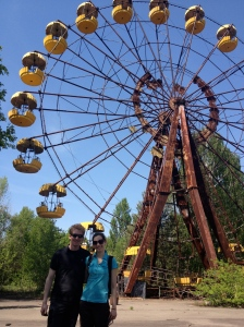 A tour of Chernobyl, Ukraine, was one thing we made sure to get in before I left Kiev!