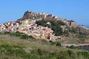 The picturesque town of Castelsardo.