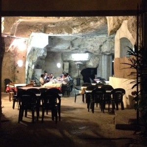 Vecia Priara - the old cave ... where you can actually have dinner in a cave!
