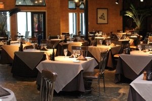 Café Élan, across from the wine market. The perfect venue for post wine tasting dining!