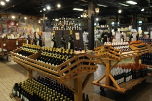 the expansive wine market of Château Élan