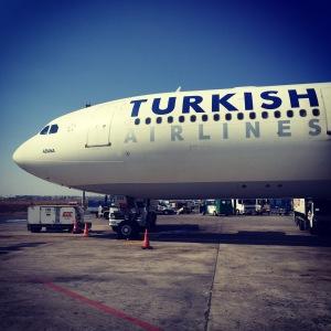 Boston to Istanbul - Istanbul to Tashkent