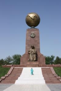 Tashkent, Mustaqillik Maydoni (Independence Square), Uzbekistan