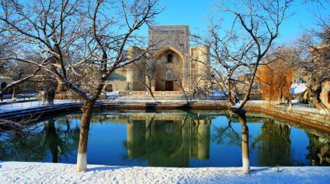 view-lyabi-hauz-winter-bukhara-uzbekistan-78135421